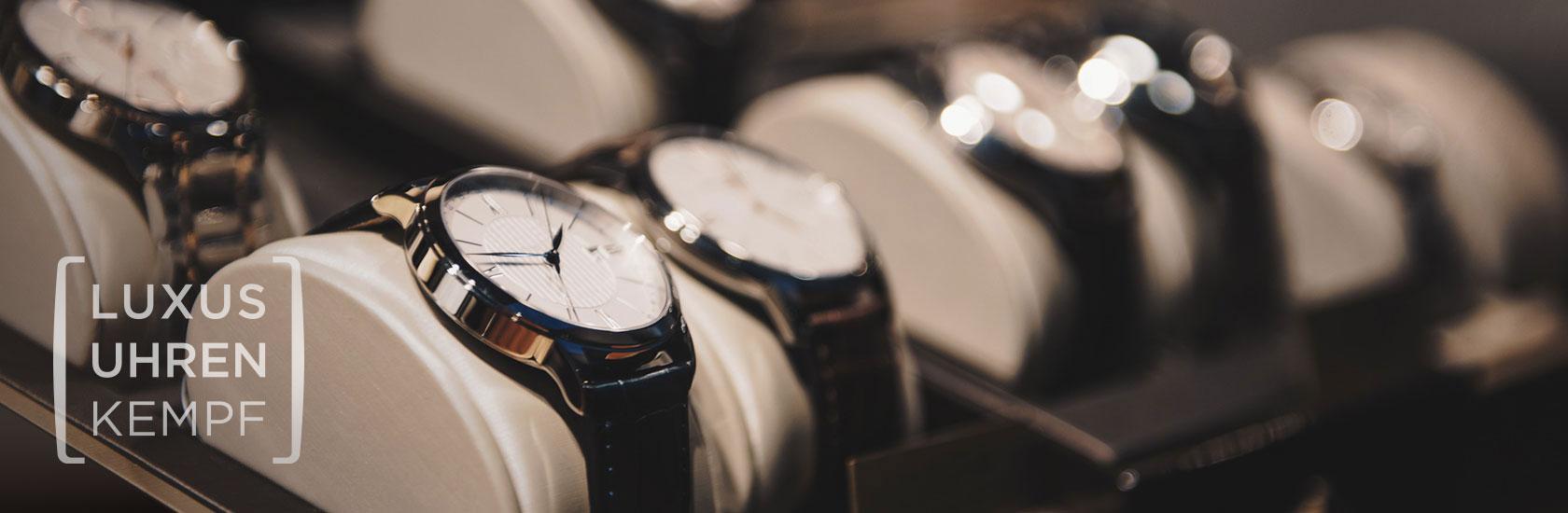 Ankauf gebrauchter Markenuhren - Luxusuhren Kempf