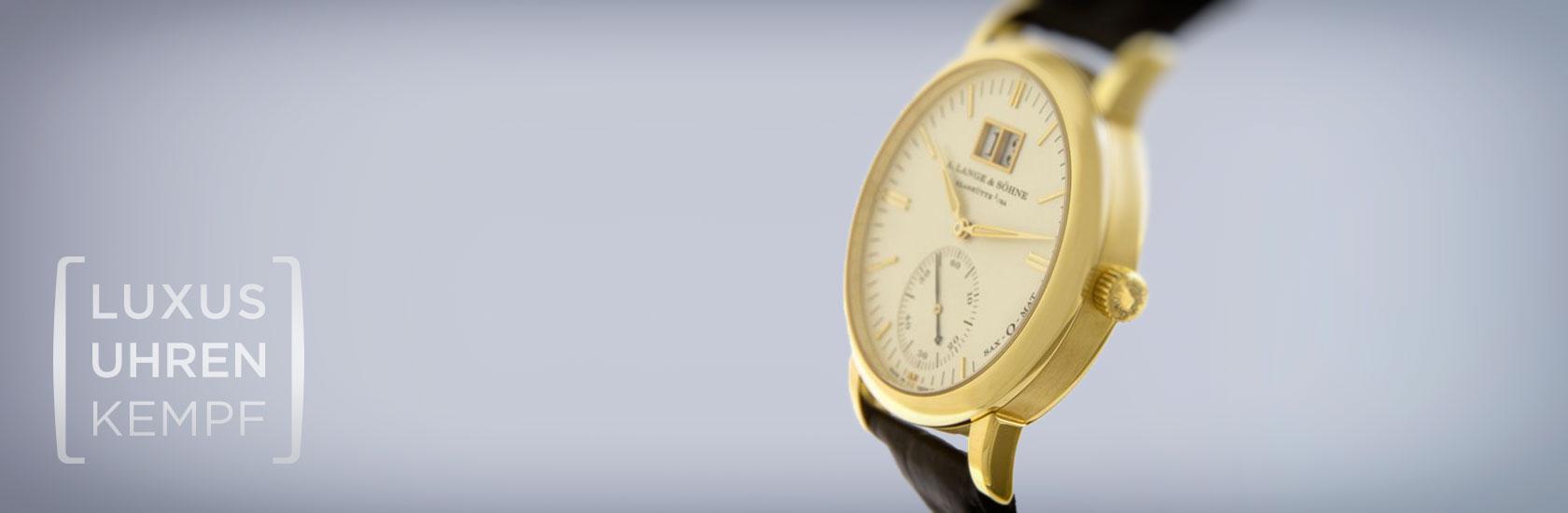 Luxusuhren Kempf - Ankauf von gebrauchten A. Lange & Söhne Uhren