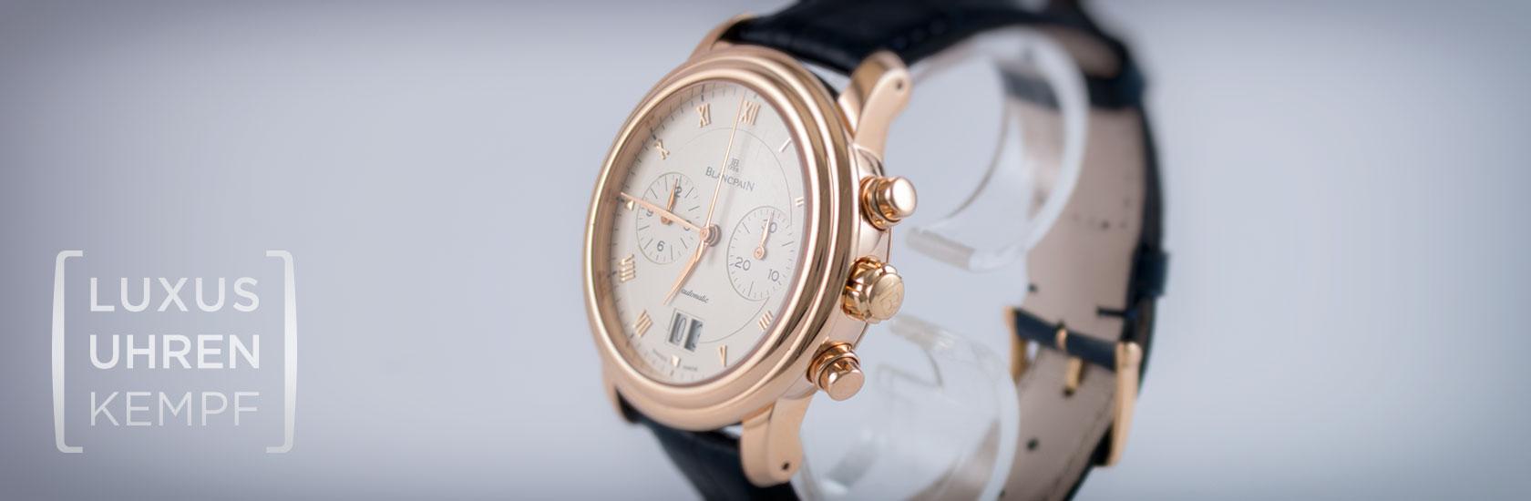Luxusuhren Kempf - Ankauf von gebrauchten Blancpain Uhren
