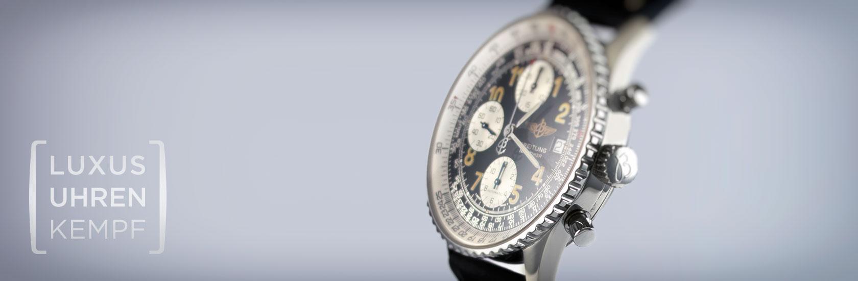 Luxusuhren Kempf - Ankauf von gebrauchten Breitling Uhren