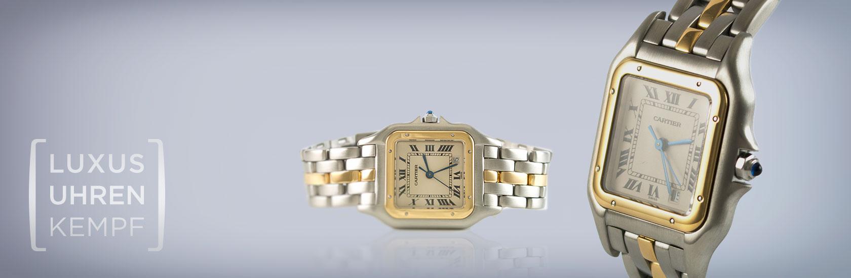 Luxusuhren Kempf - Ankaugf von gebrauchten Cartier Uhren