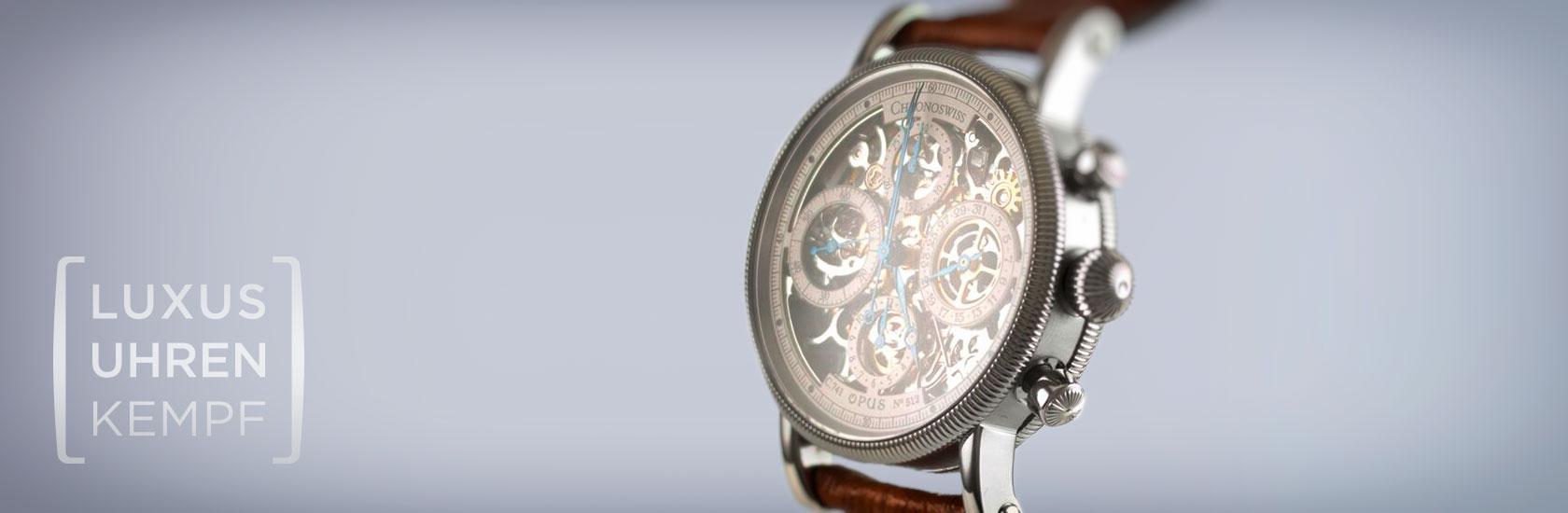 Luxusuhren Kempf - Ankauf von gebrauchten Chronoswiss Uhren