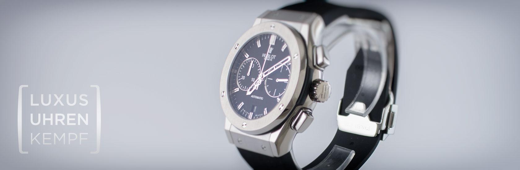 Luxusuhren Kempf - Ankauf von gebrauchten Hublot Uhren