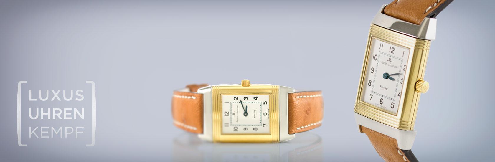 Luxusuhren Kempf - Ankauf von gebrauchten Jaeger-LeCoultre Uhren
