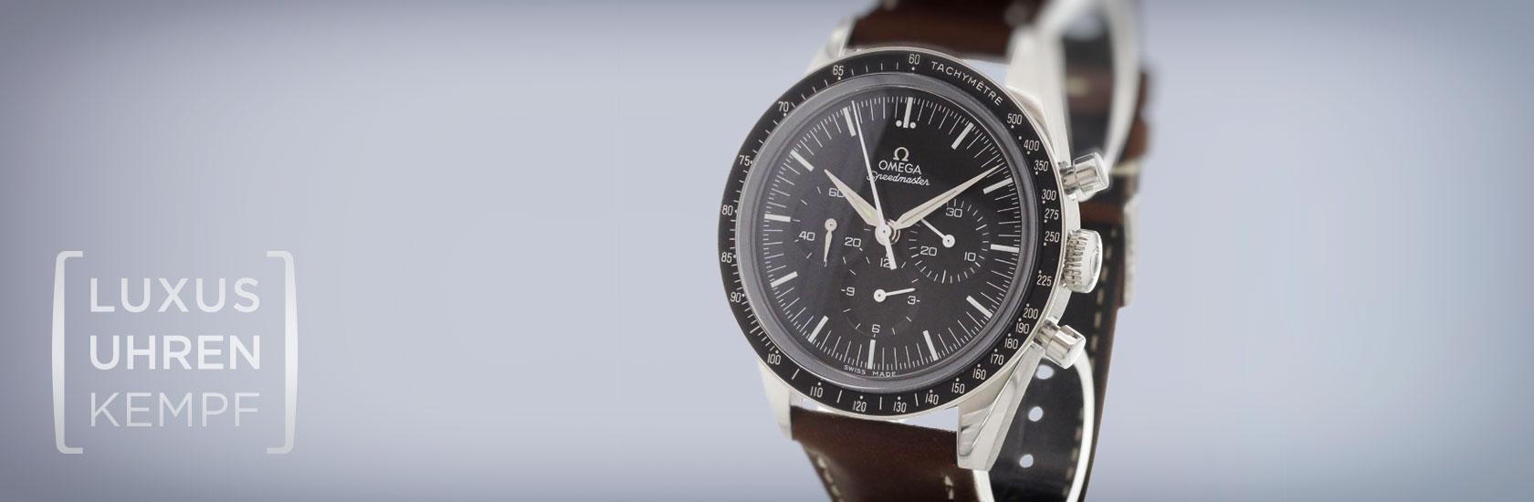 Luxusuhren Kempf - Ankauf von gebrauchten Omega Uhren